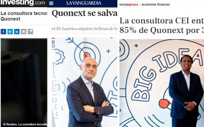 ¡BREAKING NEWS! CEI Europe aparece en diferentes medios de comunicación